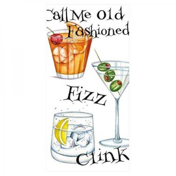 Papirlommetørkle Cocktail Hour