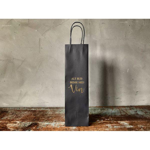 Gavepose vin Alt blir bedre med vin