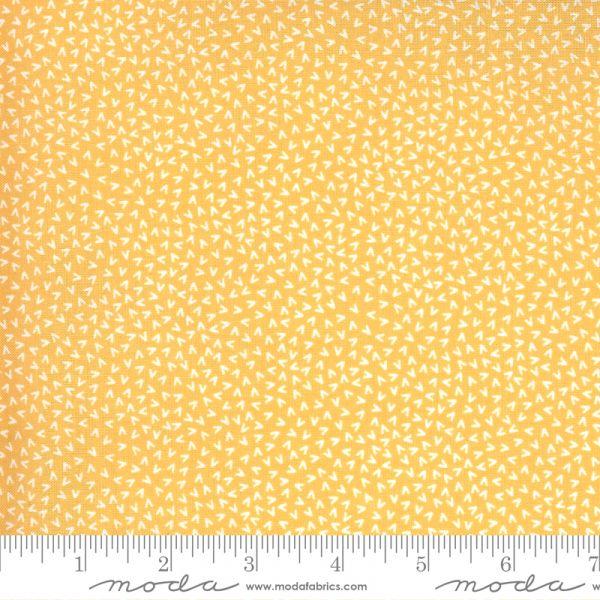 Spring chicken eggeplommegul v mønster