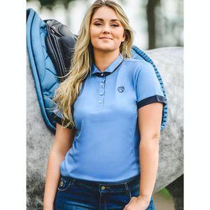 PS Of Sweden Daniella Polo Shirt- blue