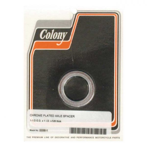 COLONY UNIV. AXLE SPACER 5/8 INCH LONG