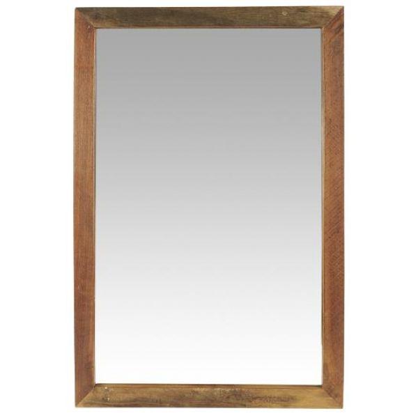 Speil i treramme unika