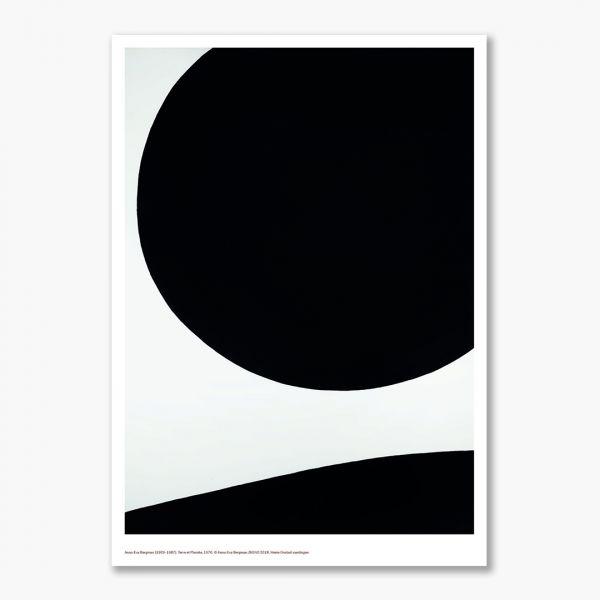 A3 plakat Anna-Eva Bergman. Terre et Planète, 1970