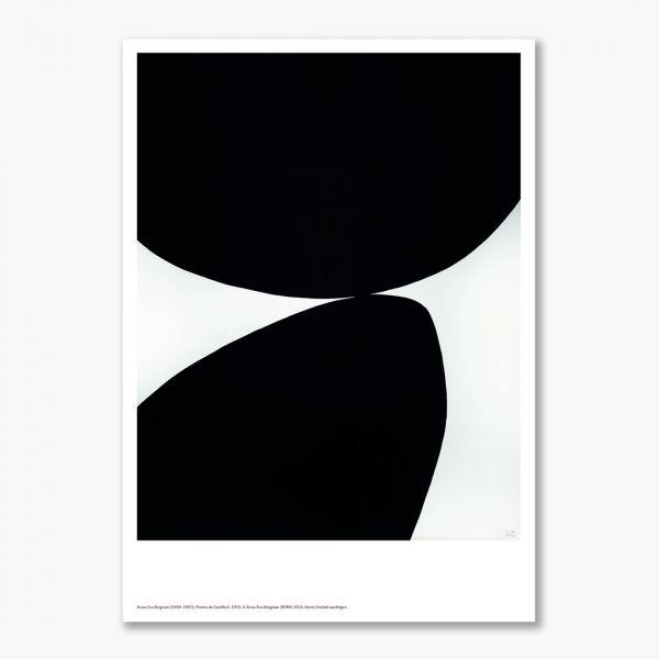 A3 plakat Anna-Eva Bergman. Pierres de Castille II, 1970