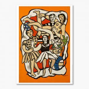Fernand Léger, Dancers with Birds.