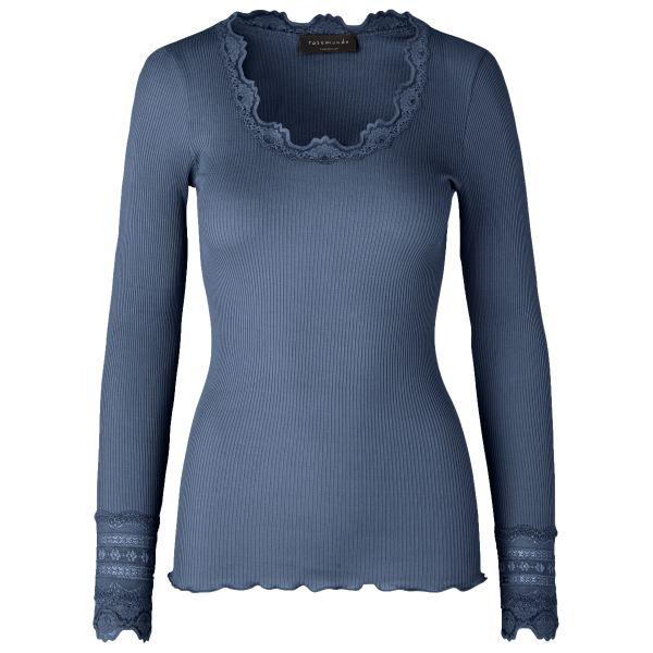 Benita-Silk t-shirt Denim