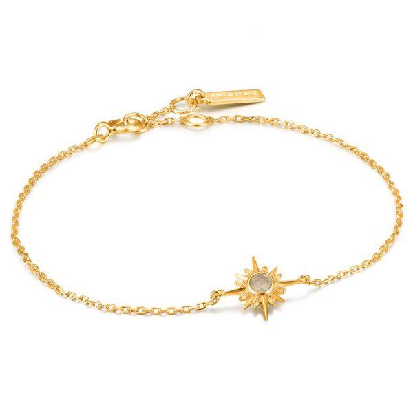 Gold Midnight Star Bracelet