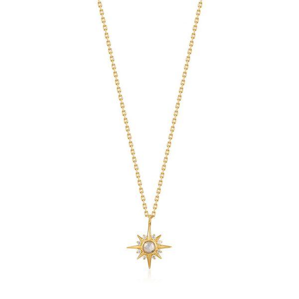 Gold Midnight Star Necklace