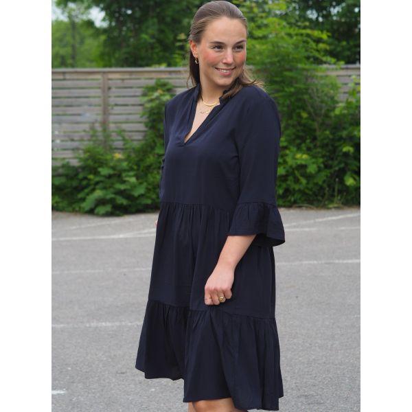 Eda SZ Dress - Deep Blue
