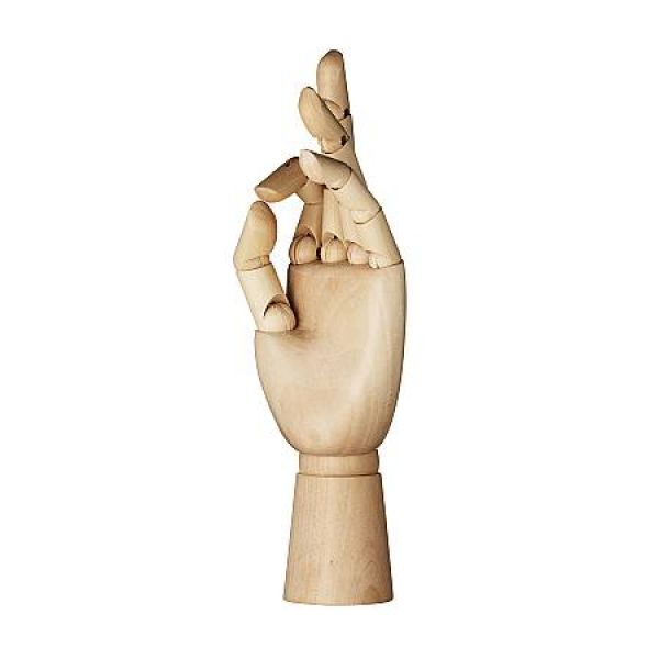 Modellhånd tre, 25 cm