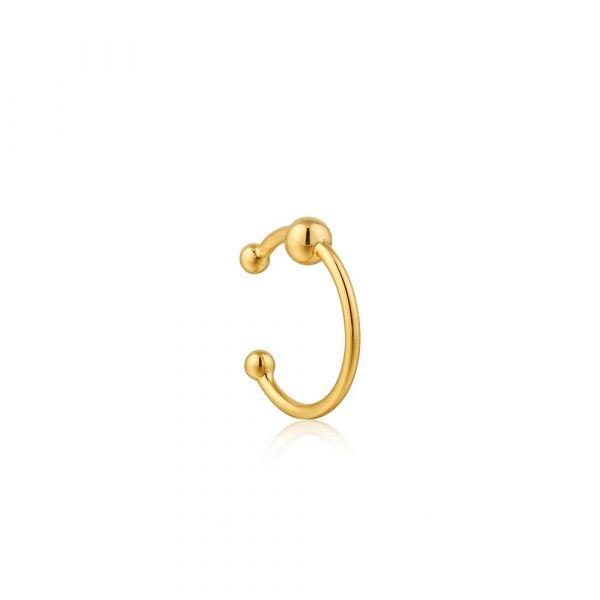 Gold Orbit Ear Cuff