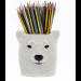 Isbjørn - Quail ceramics (Polar Bear)