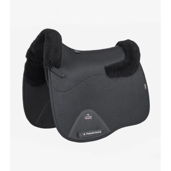 Premiere Equine Close Contact Airtechnology Shockproof Wool Saddle Pad - Dressage Square