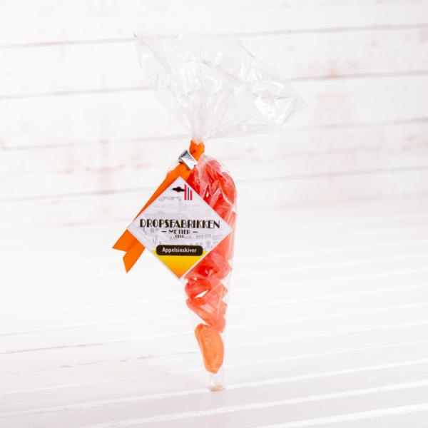 Spisspose  drops appelsinskiver 120g