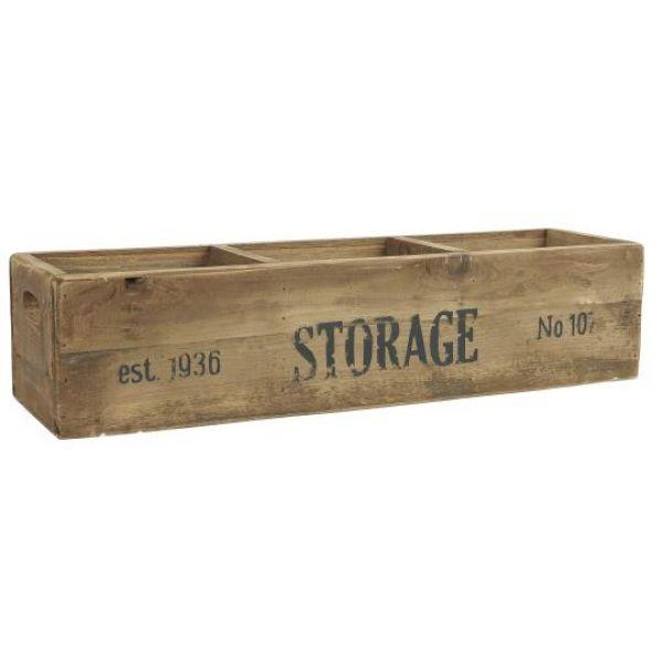 Trekasse m/3 rom Storage