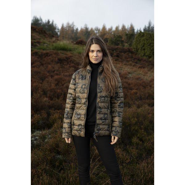 Frandsen oliven/sort vendbar jakke 326-588-8890
