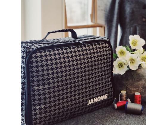 Janome symaskinveske grå/sort
