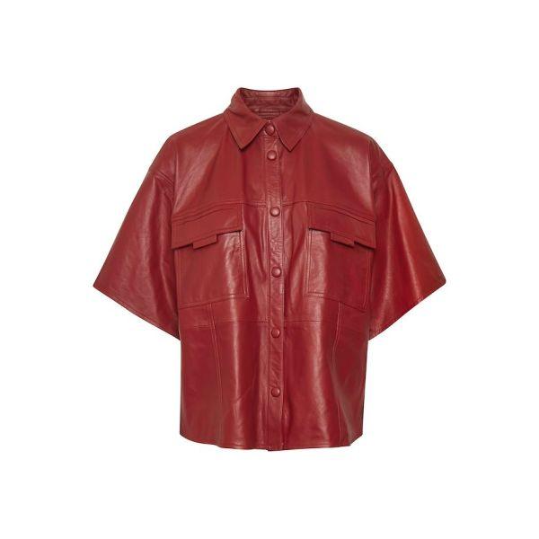 Lilja Shirt - Red Rhubarb