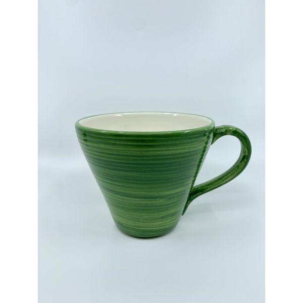 Kopp colour jumbo grønn