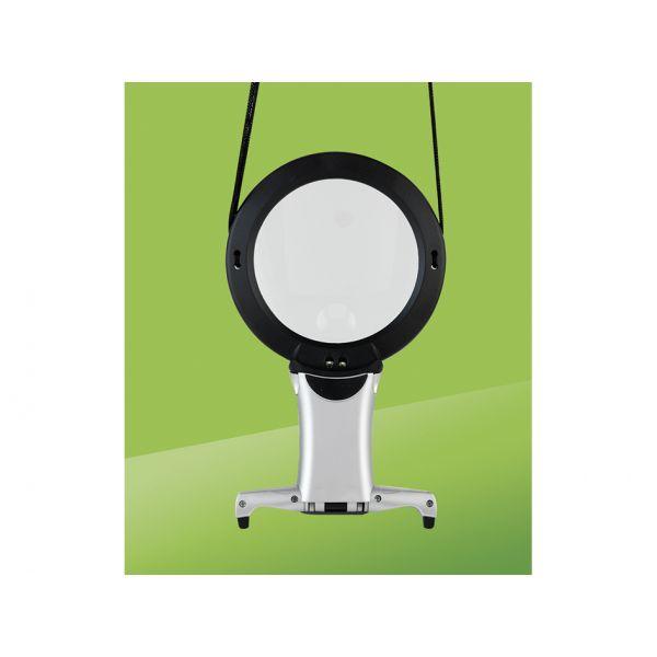 Daylight LED Halslampe med forstørrelsesglass