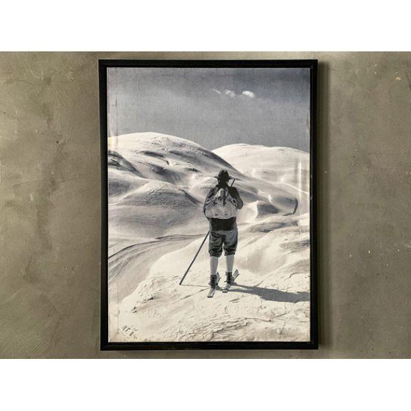 Bilde Mann på ski