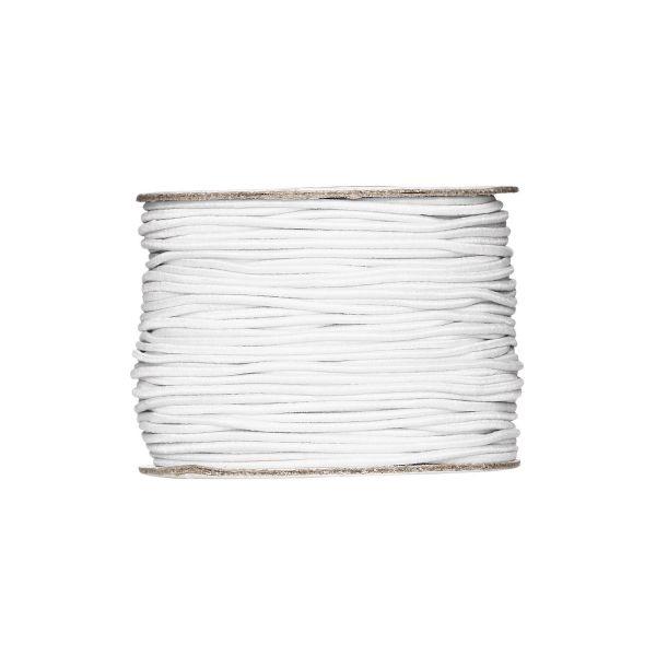 Strikksnor Hvit Ø 1 mm/50 m