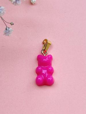 Yummy Bear Anheng - Fuzzy Pink