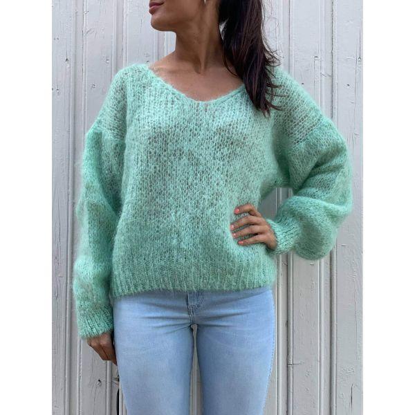 Melina Mohair Knit - Mint