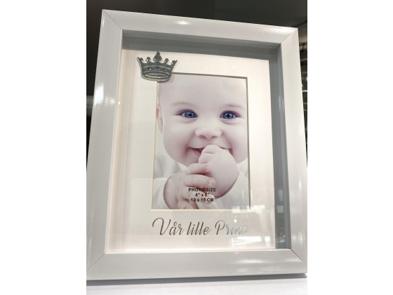 "Bilderamme (stor) - ""Vår lille prins"""