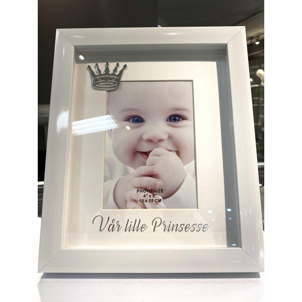 """Bilderamme (stor) - """"Vår lille prinsesse"""""""