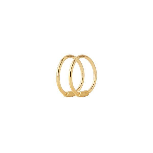 BASIC 8 HOOP GOLD