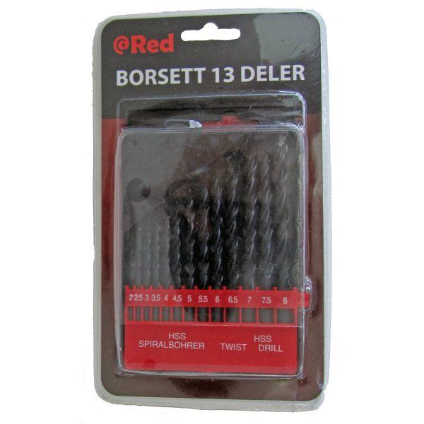 BORSETT HSS 2-8mm