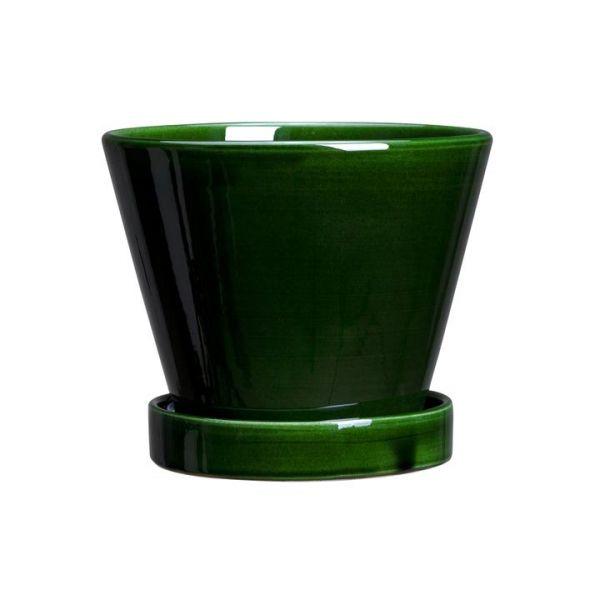 """Julie pot fra Bergs Potter """"Julie Pot Glazed Green"""""""