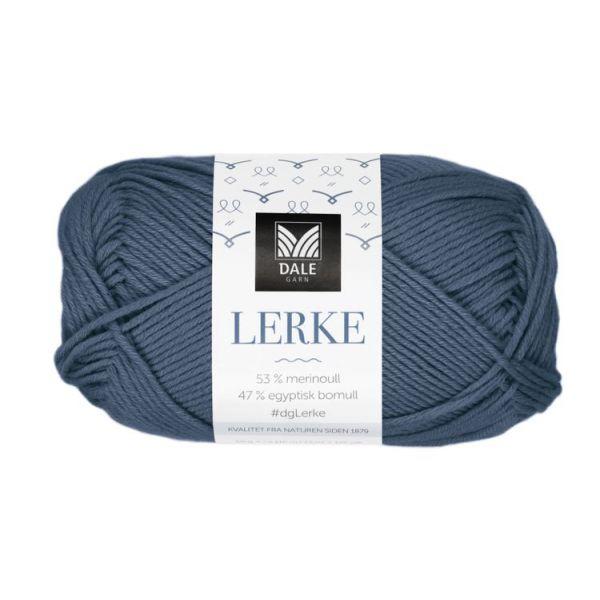 8105 Mørk Denim - Lerke - Dale Garn