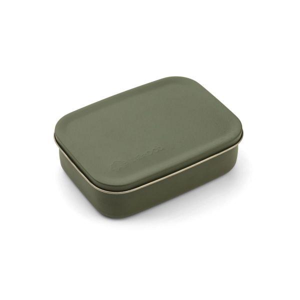 LIEWOOD - JIMMY LUNCH BOX DINO HUNTER GREEN