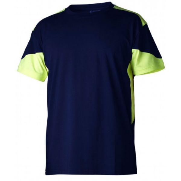 T-shirt 210 marine/gul
