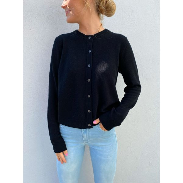 Fudge Cashmere Knit - Black
