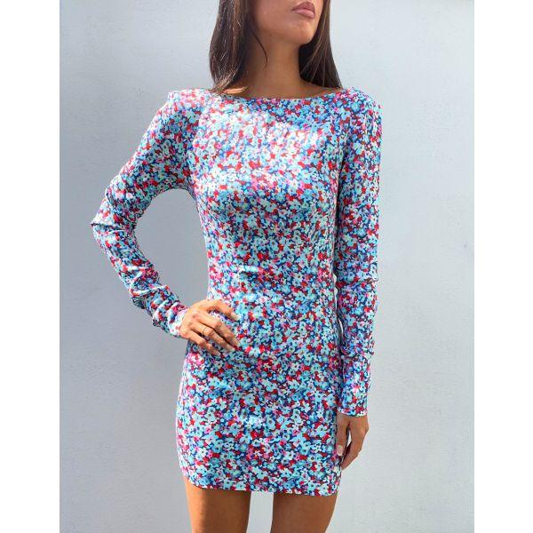 Allyssa Dress - Antigua Sand Comb