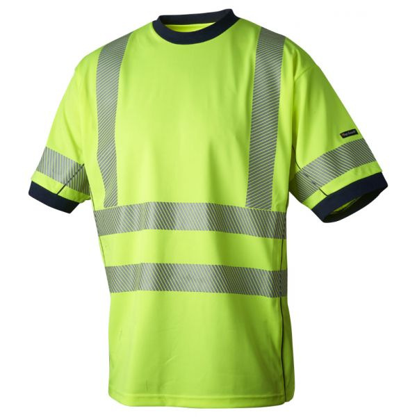 Gul T-skjorte med Coolplus