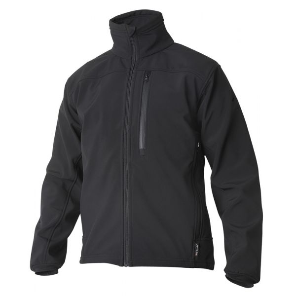 Softshell jakke svart