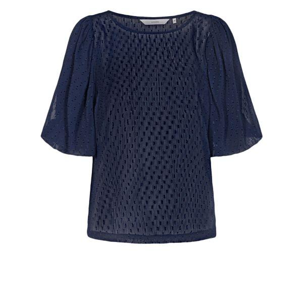 NUCATULSA dark sapphire blouse 700846