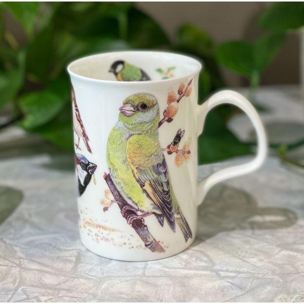 Garden Birds grønnfink krus 0,33 l