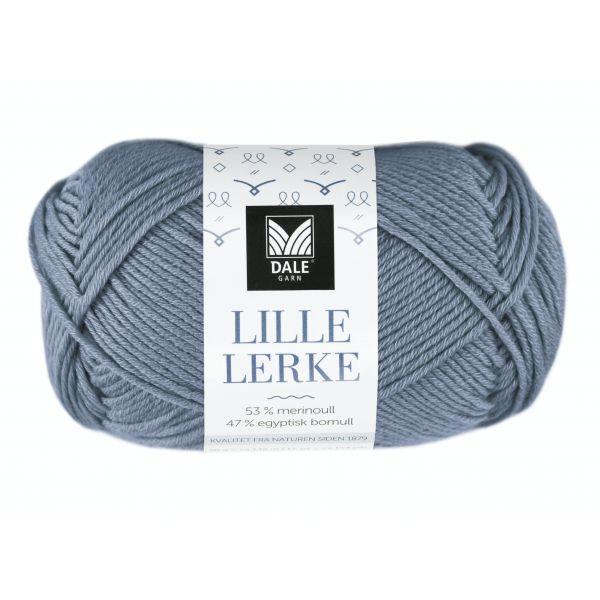 8149 Lys denim melert - Lille Lerke - Dale Garn