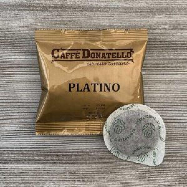Caffè Donatello Platino 50 stk E.S.E. pods