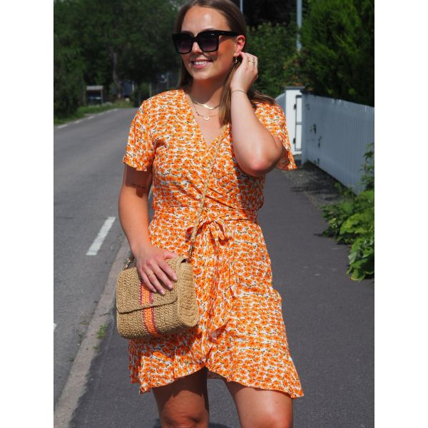 Milly Wrap Dress Short