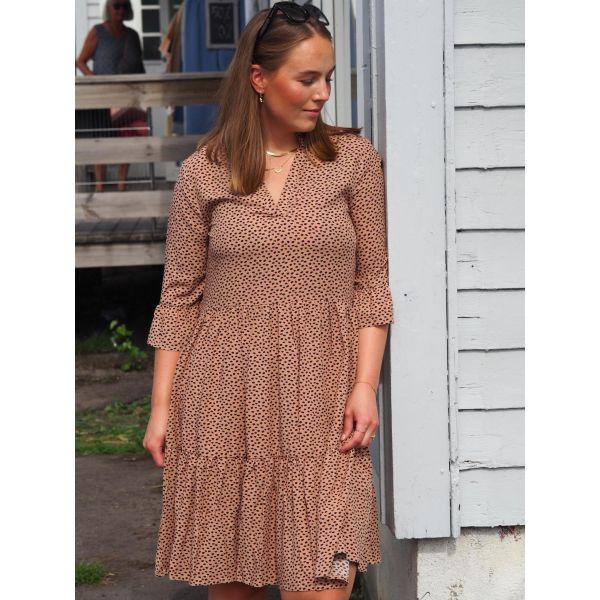Eda SZ Dress - Brown