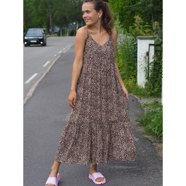 Mini Leo Strap Dress