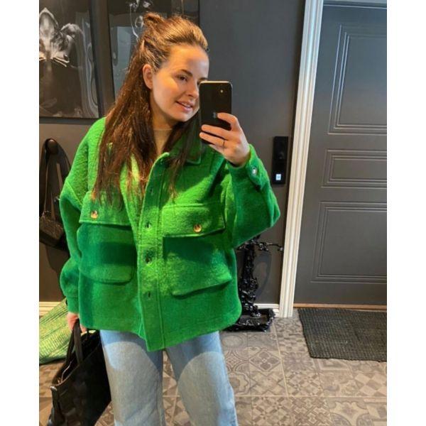 Celine jakke grønn