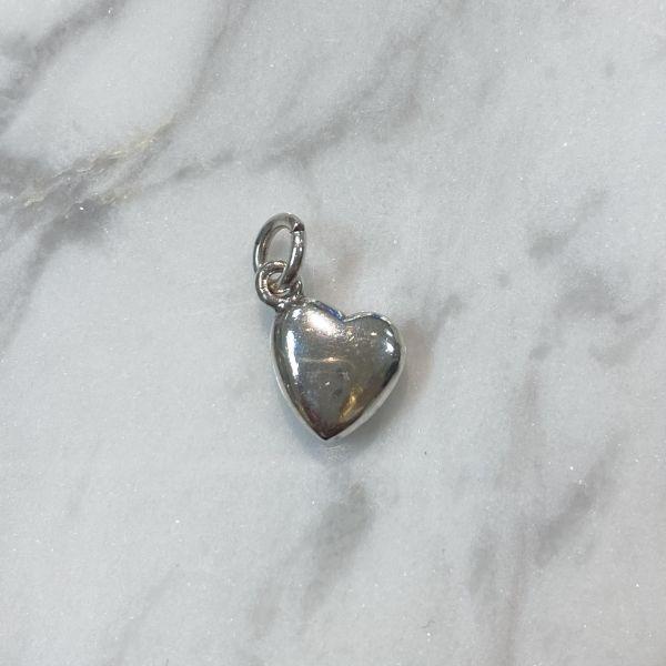 Barneanheng - Sølv hjerte