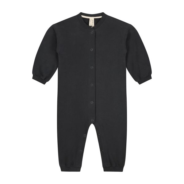 GRAY LABEL - BABY BASEBALL SUIT NEARLY BLACK